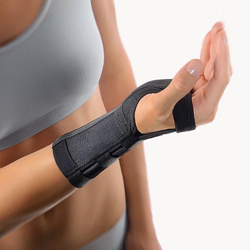 BORT Medicininis riešo įtvaras su aliuminio lankstu 2