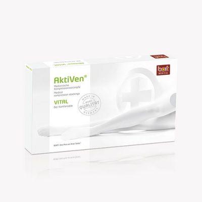 BORT AktiVen® VITAL kompresinės kojinės iki šlaunies viršaus 2 k.kl.